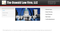 GRAHAM OSWALD website screenshot