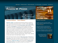 RAMON PAGAN website screenshot