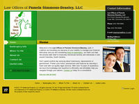 PAMELA BEASLEY website screenshot