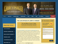 LARRY PARKER website screenshot