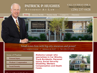 PATRICK HUGHES website screenshot