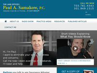PAUL SAMAKOW website screenshot