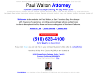 PAUL WALTON website screenshot