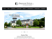 CRAIG PAULUS website screenshot