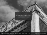 KENNETH PEDERSEN website screenshot