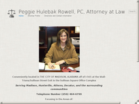 PEGGIE ROWELL website screenshot