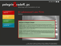 CHRIS RADEFF website screenshot