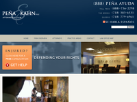 STEVEN KAHN website screenshot