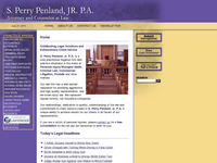 S PERRY PENLAND JR website screenshot