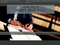 WILLIAM GALLINA website screenshot