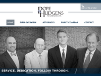 THOMAS POPE website screenshot
