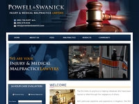 DAVID SWANICK III website screenshot
