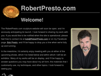 ROBERT PRESTO website screenshot
