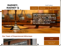 THOMAS RADNEY website screenshot