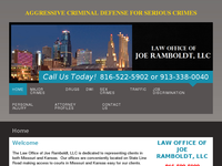 JOE RAMBOLDT website screenshot