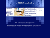 RANDALL ALFRED website screenshot