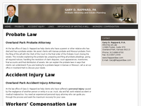 GARY RAPPARD website screenshot