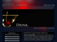 KENNETH MILLER website screenshot