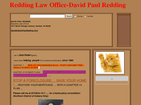 DAVID REDDING website screenshot