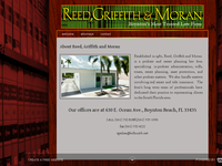 ROBERT REED website screenshot