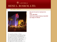 RENE ROSICH website screenshot