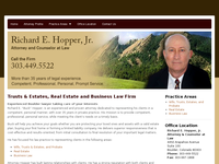 RICHARD HOPPER JR website screenshot