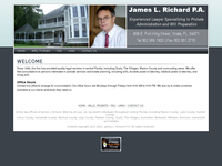 JAMES RICHARD website screenshot
