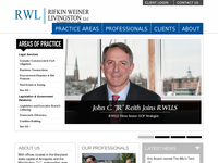 ALAN RIFKIN website screenshot