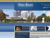 TREY RILEY website screenshot