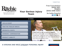 ROGER RITCHIE SR website screenshot