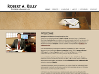 ROBERT KELLY website screenshot