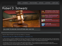 ROBERT SCHWARTZ website screenshot