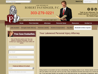 ROBERT PAYSINGER website screenshot