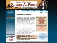 ROBERT PONCE website screenshot