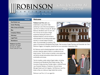 GEORGE ROBINSON website screenshot