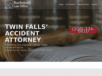 JOE ROCKSTAHL website screenshot