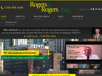 EVAN ROGERS website screenshot
