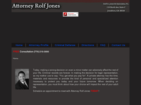 ROLF JONES website screenshot