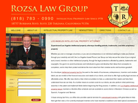 THOMAS ROZSA website screenshot