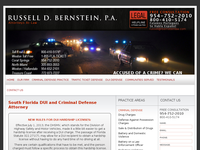 RUSSELL BERNSTEIN website screenshot