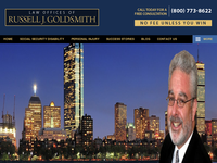 RUSSELL GOLDSMITH website screenshot