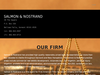 GEORGE NOSTRAND website screenshot
