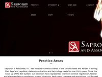 WALT SAPRONOV website screenshot