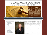 BRUCE SARBAUGH website screenshot
