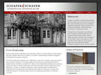 T GREGORY SCHAFER website screenshot