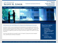 SCOTT LINER website screenshot