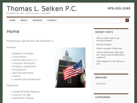 THOMAS SELKEN website screenshot