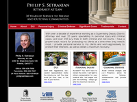 PHILIP SETRAKIAN website screenshot