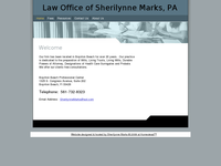 SHERILYNNE MARKS website screenshot