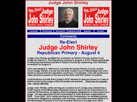 JOHN SHIRLEY website screenshot
